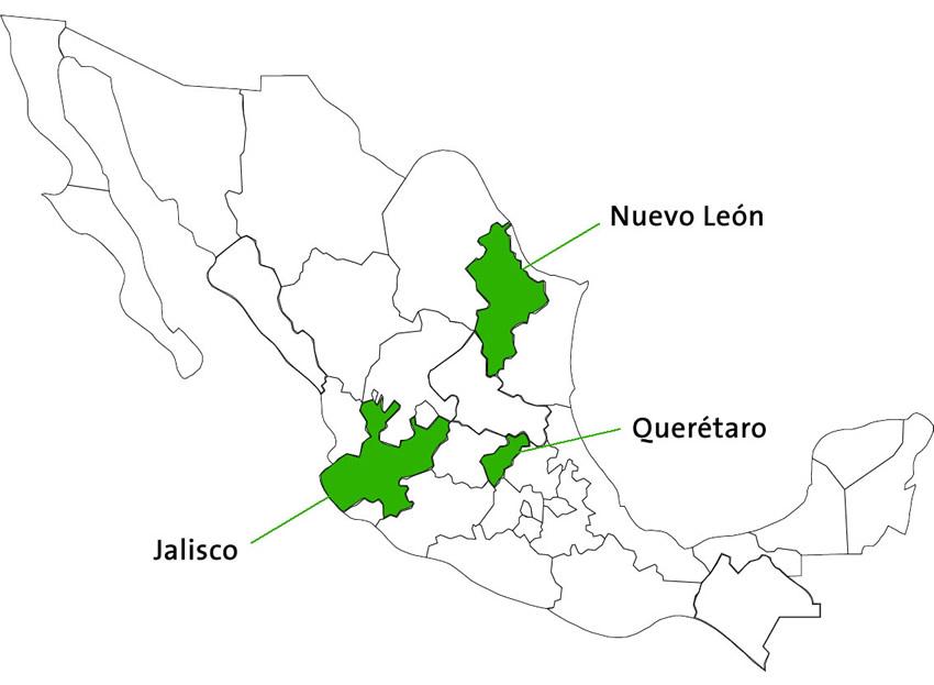 Leyes residuos estatales Mexico
