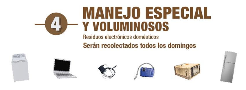 Residuos electrodomesticos de manejo especial