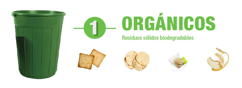Basura organica biodegradable