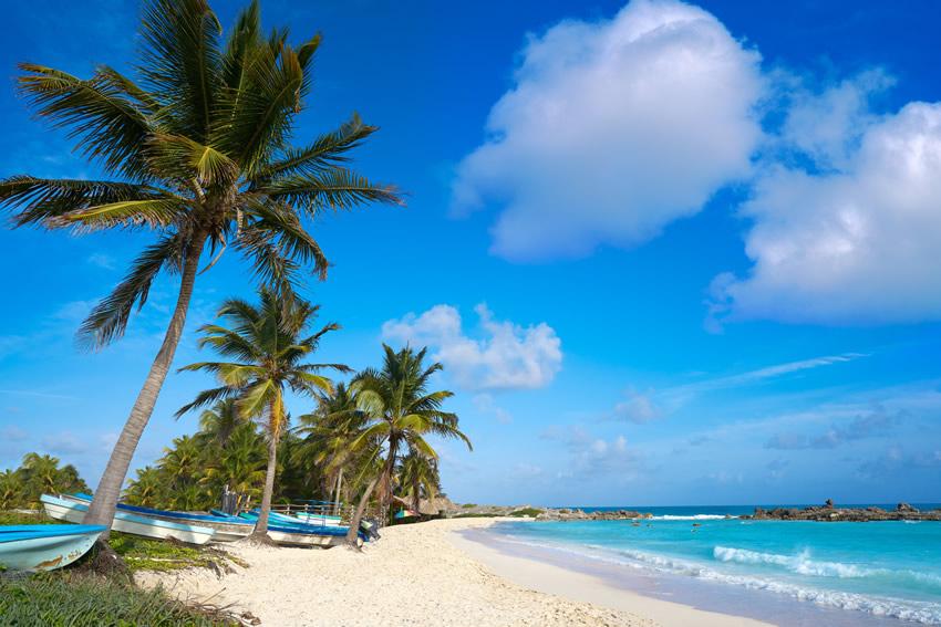 Foto De Playa Limpia En Quintana Roo
