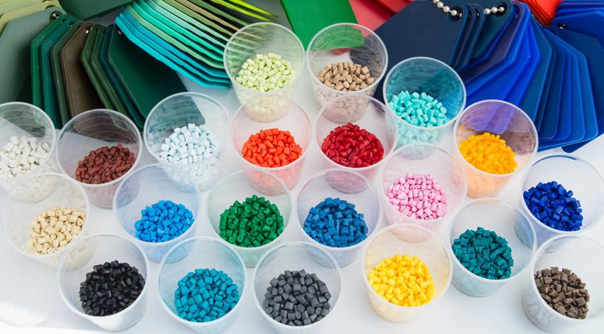 Pellets para producti plásticos