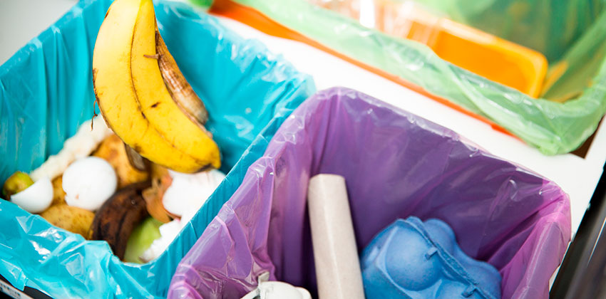 Participa En El Reciclaje Con La Separación De Residuos.