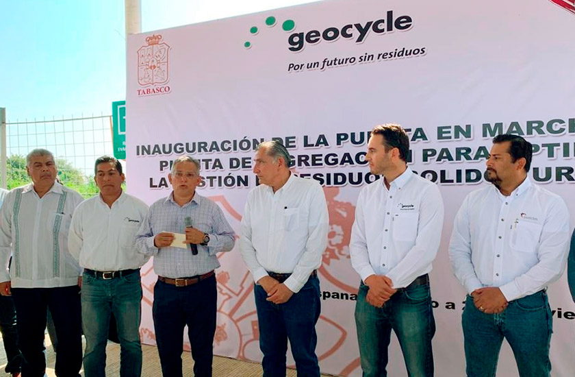 Inauguran Planta Para Optimizar La Gestión De Residuos Sólidos Urbanos En Macuspana, Tabasco.