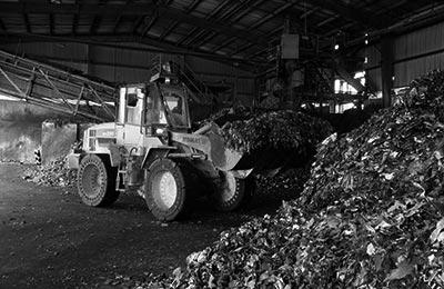 Preparación de residuos para su coprocesamiento.